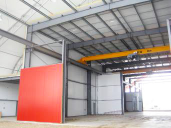 Insulated Metal Warehouse Interior