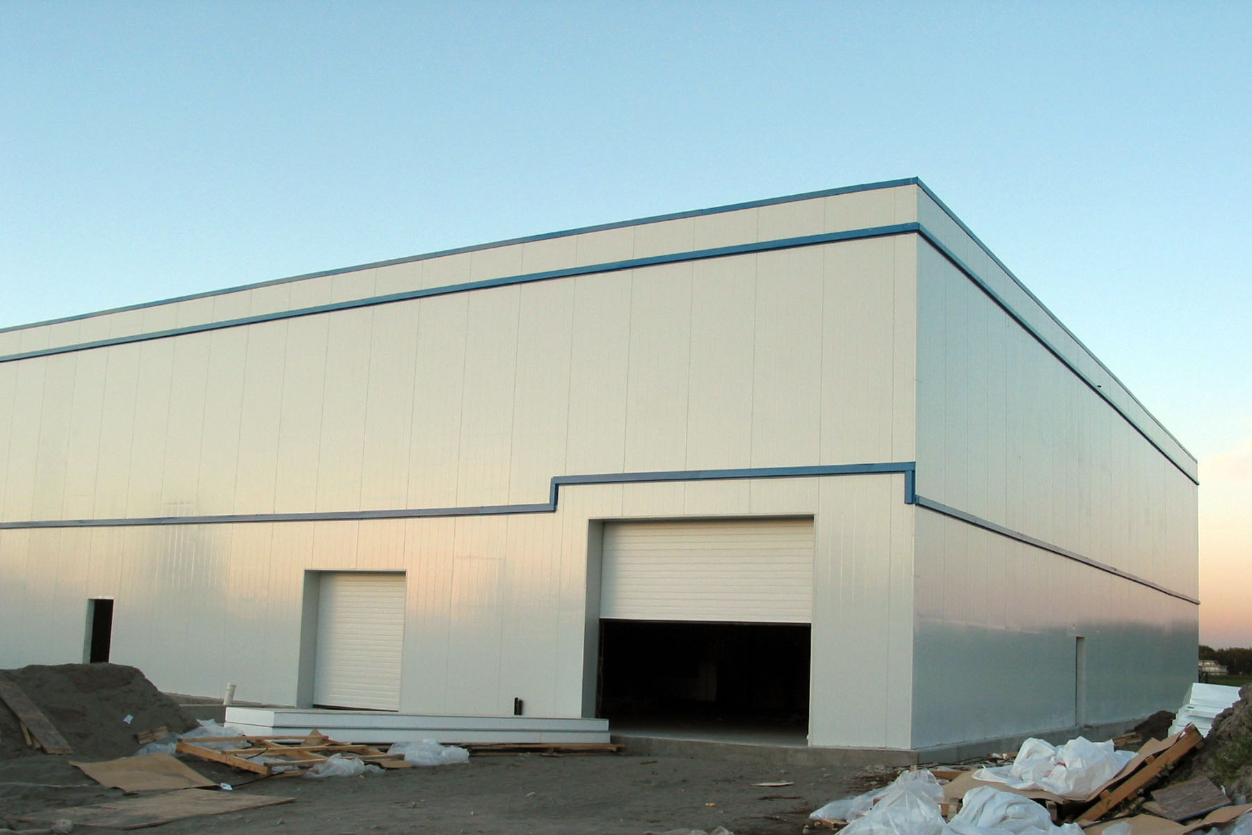 Insulated Metal Warehouse Building