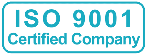 Proud to serve you with an ISO 9001:2015 certified Quality System
