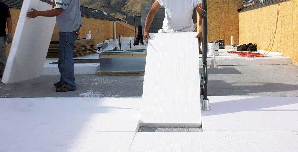 Roof Insulation with Expanded Polystyrene (EPS)